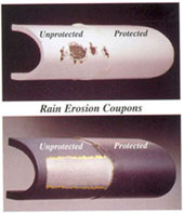 Rain Erosion coupons